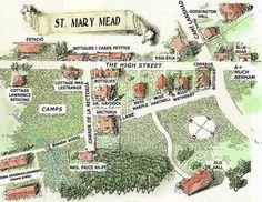 Miss Marples' little village