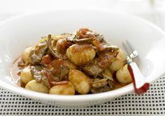 Beef and Capsicum Gnocchi