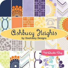Ashbury Heights Fat Quarter Bundle Doohikey Designs for Riley Blake Designs - Fat Quarter Shop