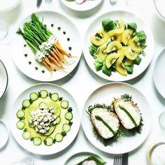 食べるのがもったいない!「パレットサラダ」で芸術の秋をおいしく楽しもう - macaroni