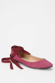 Kimchi Blue Sweetheart Ankle Tie Skimmer