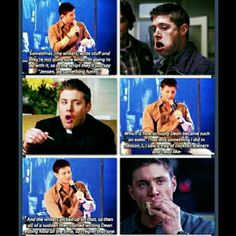 That is quite nice that Dean's thing for food is because of Jensen.