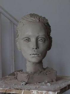 "Image search result for ""sculpture viewing"" – # … Sculpture Head, Sculptures Céramiques, Pottery Sculpture, Bronze Sculpture, Ceramic Sculptures, Ceramic Figures, Ceramic Art, Ceramic Pottery, Ceramic Sculpture Figurative"