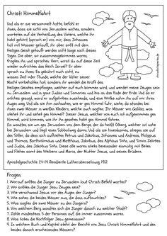 Zachäus war der Mann am Zoll - Bild Text Probe | Воскресная школа ...