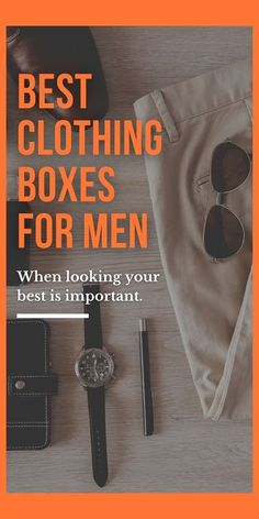 Discover the best mens monthly apparel subscription boxes available today. They're an easy way to update you or your man's clothes. No more going to the mall. Many services offer one box subscriptions or you can cancel anytime, which makes a great gift idea for him! #Menstylefashionblog #menstyle #menstyleguide #MenStyleGoals #mensfashion #MensFashionPost #MensFashionReview #mensfashionblog #giftideasforhim #giftideasformen #mensclothes #trunkclub #stitchfix #giftideasfordad Subscription Boxes For Men, Clothing Subscription Boxes, Mens Fashion Blog, Latest Mens Fashion, Men's Fashion, Best Presents For Men, Clothing Boxes, Man Cave Gifts, Cool Tattoos For Guys