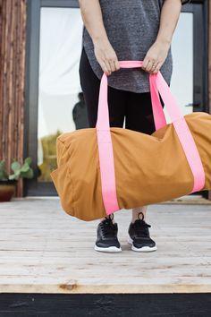 Gym Bag DIY – A Beautiful Mess