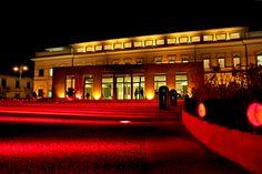 Il Museo la sera dell'inaugurazione