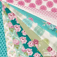Tilda Sewingbid Fabric Bundle - 10 pieces of 32cm squares  $25.41