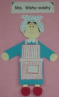 Mrs. Wishy Washy Craftivity
