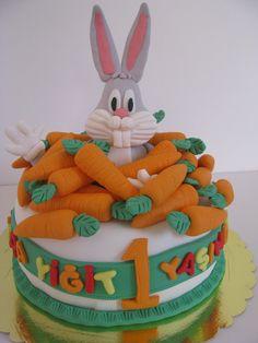 bugs bunny cake:)