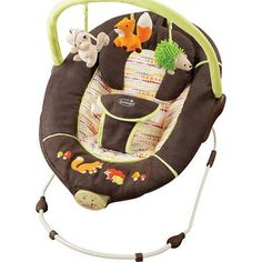 fox baby bouncer New Love Summer Infant woodland fox forrest friends musical baby bouncer