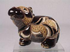 De Rosa Rinconada Family Collection 'Baby Hippo' Figurine #F319 RET. NIB BIN $47.70 with free shipping **want**