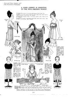 1918 Underwear for Ladies and Children