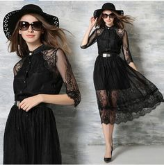 >>>Smart Deals for2016 Spring Summer Women's Fashion Black Lace Dress Slim Single-Breasted Three Quarter Knee-Length Mid-Calf DressesSK122016 Spring Summer Women's Fashion Black Lace Dress Slim Single-Breasted Three Quarter Knee-Length Mid-Calf DressesSK12Low Price...Cleck Hot Deals >>> http://id183692047.cloudns.pointto.us/32609475526.html images