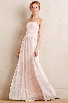 Sakura Blossoms Gown - anthropologie.com
