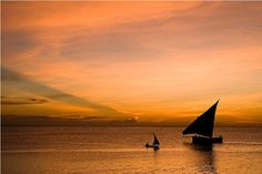 Sunset Dhow