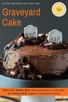 Graveyard Cake | SIMPLE MILLS | Grain-free | Gluten-free | Clean-eating | REAL FOOD