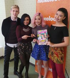 Today's the day! @makeitpoptv is coming back with Season 2 tonight on @nickelodeontv! ♥♥♥♥