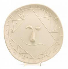 "PABLO PICASSO, (SPANISH, 1881-1973), ""GEOMETRIC FACE"""