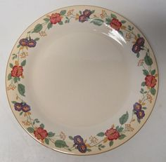 "1776 Independence SY 7663 International China Stoneware 10 7/8"" Dinner Plate…"