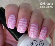 Nail Stamping with Cici&Sisi plates
