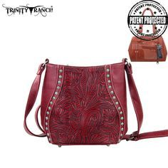 Montana West Trinity Ranch Genuine Leather Concealed Handgun Messenger – Handbag-Addict.com