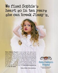 Holtz Children Hospital Advertising Campaign