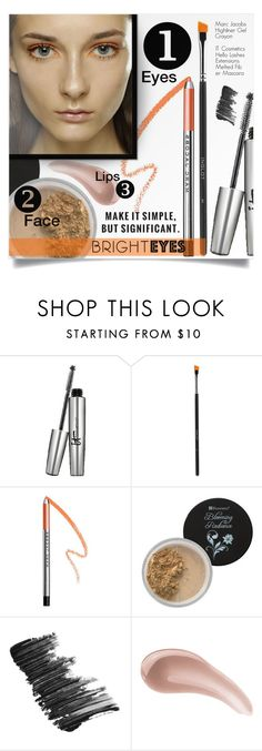 """""""Bright Eyes-Orange Eyeliner"""" by tawnee-tnt ❤ liked on Polyvore featuring beauty, It Cosmetics, Inglot, Marc Jacobs, BHCosmetics, Kenzo, Bare Escentuals and brighteyes"""
