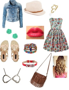 """""""Meeting One Direction Dressy(: Cute Summer Outfits, Cute Outfits, Hannah Taylor, Style Me, Cool Style, First Date Outfits, Unique Fashion, Womens Fashion, Boy And Girl Best Friends"""