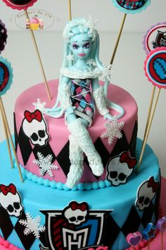 Torturi - Viorica's cakes: Monster High Abbey