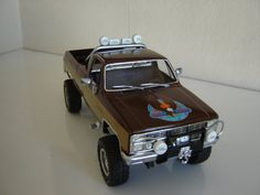 Fall Guy GMC Truck - Scale Auto Magazine - For building plastic & resin scale model cars, trucks, motorcycles, & dioramas