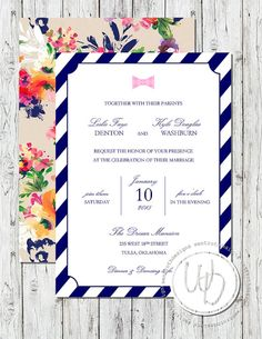 chevron modern wedding invitation by wentroth designs visit us