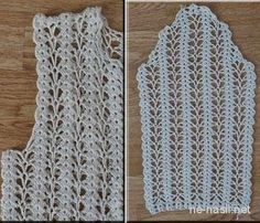 This Pin was discovered by Asu Zig Zag Crochet, Crochet Baby Dress Pattern, Gilet Crochet, Crochet Diy, Crochet Girls, Crochet Jacket, Dress Sewing Patterns, Crochet Cardigan, Crochet Motif