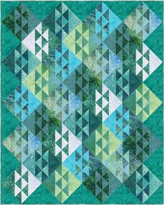 Salt & Pepper Quilt Pattern- omg this could potentially be a fish quilt! Ive got to do this for granger!