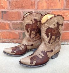 Shop the Yippee Ki Yay Cowboy Up Boots by Old Gringo YL091-3