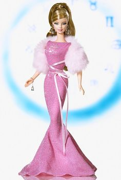 Libra Barbie Doll - Special Occasion - 2005 Zodiaz Doll Collection - Barbie Collector
