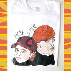 18 Cool Etsy Products All '90s Nickelodeon Kids Need Now! Pete & Pete Illustrated T-Shirt, $18