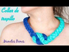 Collar trapillo nudo marinero | Tutorial crochet XXL - YouTube