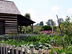 Buffalo Springs Herb Farm in Virginia.  This beautiful place no longer is open to the public.  It was a wonderful place to visit.
