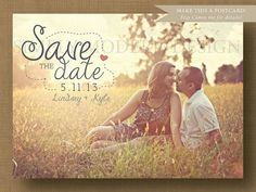 rustic save the dates | Printable Rustic and Fun Wedding Save the date | Wedding Ideas
