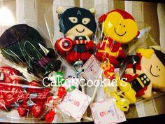 Enjambres de chocolate Avengers