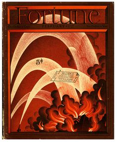 Fortune Magazine cover by Antonio Pertrucceli 1937