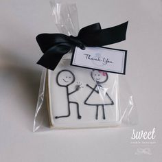 Engagement Cookies | perfect for a proposal, engagement party or wedding favor