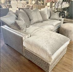 This is our final weekend for taking orders for pre-Christmas delivery on our handmade sofas Selling Furniture, Furniture Making, Luxury Furniture, Furniture Design, Silver Sofa, Sofa Design, Interior Design, Bespoke Sofas, Furniture Boutique