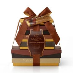 Chocolate Decadence Gift TowerChocolate Decadence Gift Tower  http://www.godiva.com/classic-chocolate-decadence-gift-tower/75423,default,pd.html?cgid=all-spring-gifts#start=40=24=all-spring-gifts