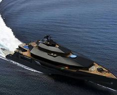 Calibre Super Yacht Designed By CMUB Design To Reach A Crazy Top Speed Via Www