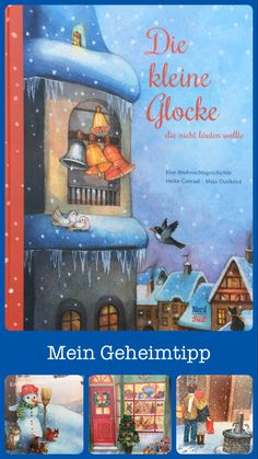 Touching Christmas story - picture book recommendation - This Christmas story always manages to stir me. It is so beautiful and my absolute insider tip amon - Magical Christmas, Christmas Books, A Christmas Story, Christmas Presents, Christmas Decorations, Kids Sand, Christmas Illustration, Christmas Pictures, Family Activities