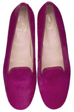 Pretty Loafers. Pretty Loafers & Pretty Ballerinas. FAYE. Poni #fucsia. Copete al estilo #slipper. #shoes #prettyballerinas #prettyloafers #pretty