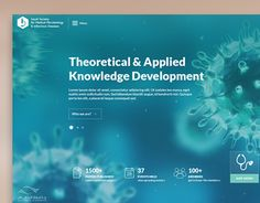 Website design for the Saudi Society for Medical Microbiology & Infectious Diseases.Full width, responsive design. Vertical scrolling home page.