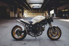 Irresistible glamour by the Motorlady. Consider me seduced.   Ducati Monster 750.